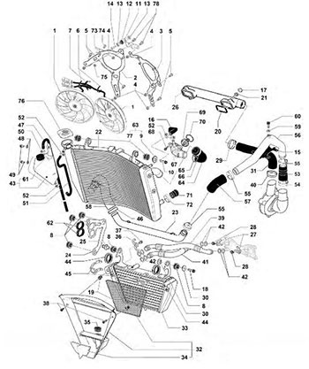 Aprilia Engine Diagrams