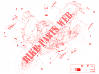 Decal for Aprilia 1200 Caponord 2015