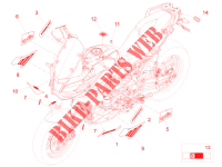 Decal for Aprilia Caponord Rally 2015