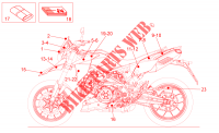 Decal  Toolkit for Aprilia Dorsoduro 2015