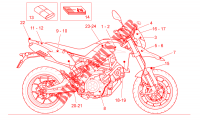 Decal  Toolkit for Aprilia Dorsoduro ABS 2010