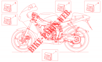Decal for Aprilia RS 125 1999