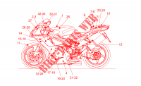 Decal My 2007   2008 for Aprilia RSV 2005