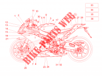 Decal for Aprilia RSV4 1000 RR 2016