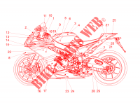 Decal for Aprilia RSV4 RR 2017