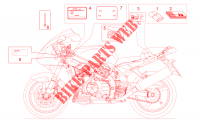 Decal and plate set for Aprilia SL Falco 2001